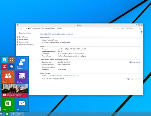 Windows10 – Installation und erster Eindruck im Video