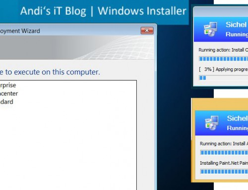 Multi-Windows-Installation-Stick mit Microsoft Deployment Toolkit