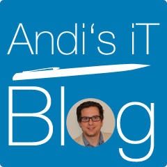 Andi's iT Blog Retina Logo