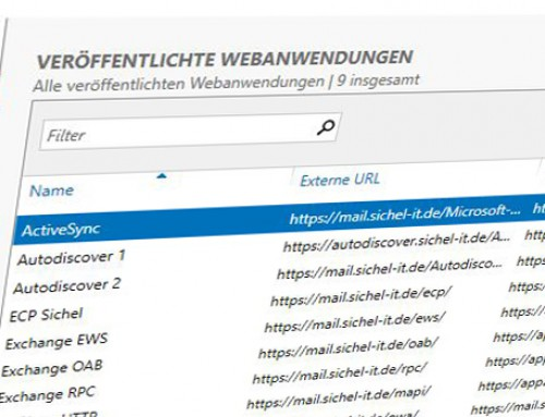 WAP: Migration auf Server 2016 Teil1 (WAP-Server)