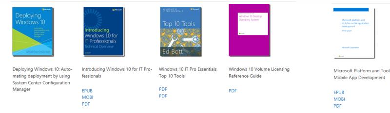 eBooks von Microsoft - Gratis! - Andi\'s iT Blog