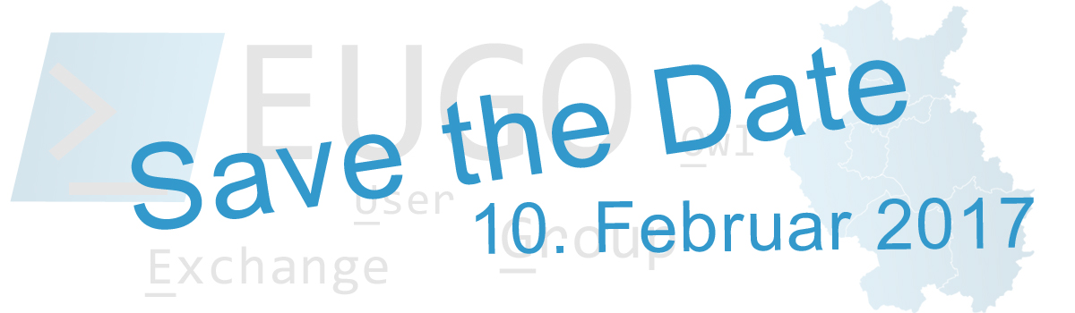 #EUGO 2.0 - Save the Date
