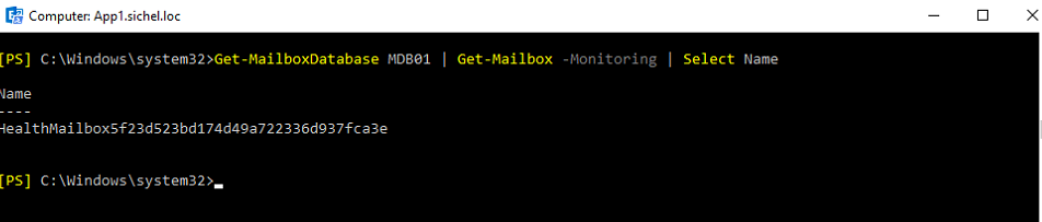 02 HealtMailbox for DB