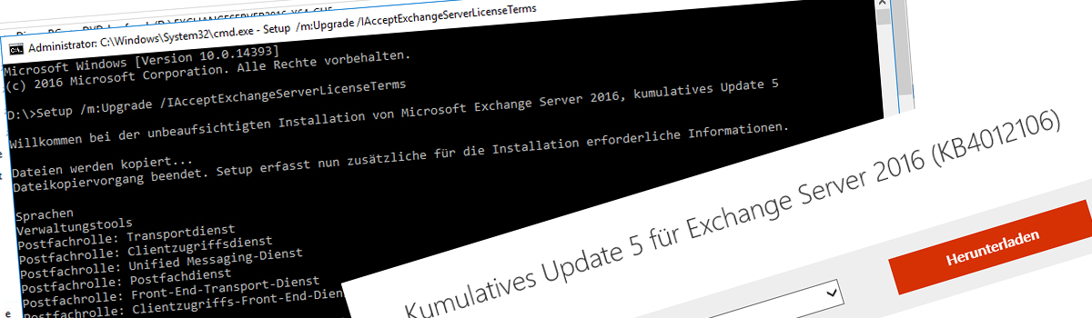 Exchnage Server 2016 CU 5