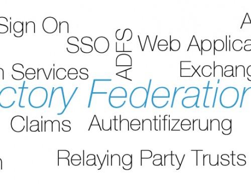 ADFS 4.0 mit Exchange 2016 – Konfigurationsübersicht