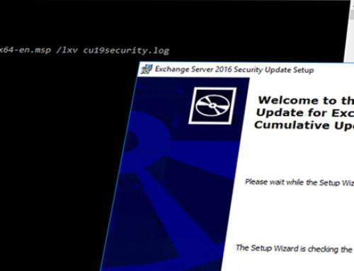 Security Updates für Exchange 2010 bis 2019 / März 2020 – Wichtig!